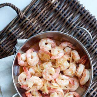 Garlicky Shrimp (gambas al ajillo)