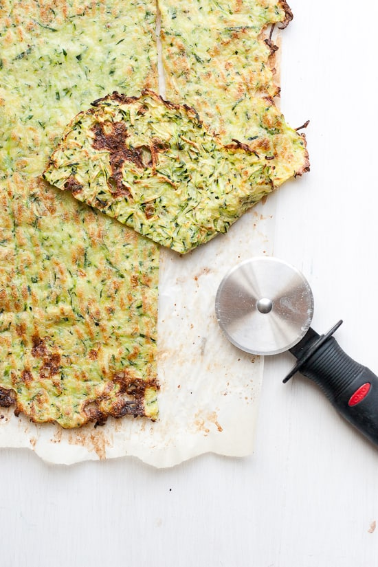 Paleo Zucchini Flatbread | A paleo alternative to flatbread or lavash. You can use this as a paleo pizza crust or sandwich wraps! Or as a naan alternative to serve with Indian curries.