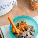 Slow Cooker Chicken and Veggies for Baby-2