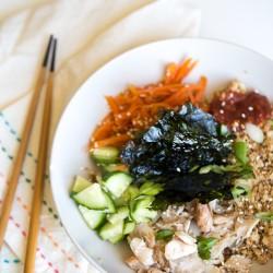 Paleo Sushi Bowls