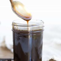 Paleo Salted Caramel Sauce with Vanilla Bean