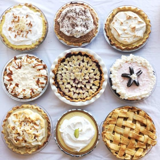 Thanksgiving Pie fest -- All gluten-free crusts! | perrysplate.com