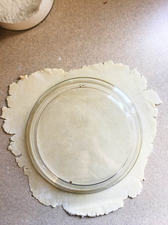 Perfect Gluten-Free Pie Crust -- Even better than most traditional pie crusts! | perrysplate.com | gluten-free recipes | gluten-free baking