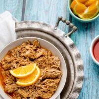 Hot & Sweet Orange Pulled Pork
