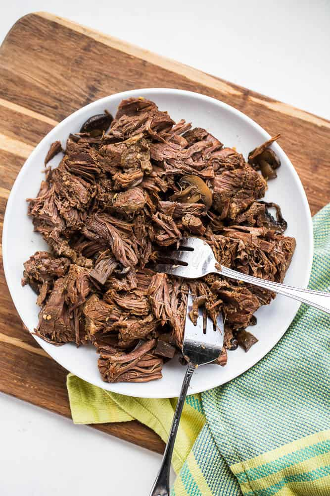 Pressure Cooker Pot Roast and Three Meal Ideas | pressure cooker recipes | Instant Pot Recipes | slow cooker recipes | paleo recipes | perrysplate.com