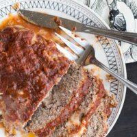 Mozzarella-Studded Gluten-Free Meatloaf