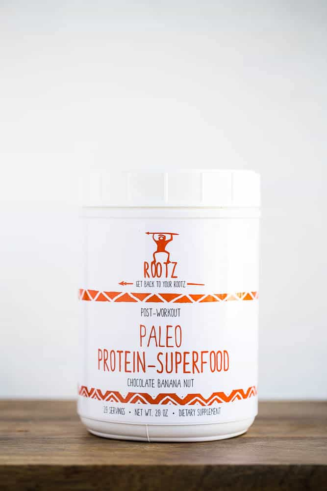 The ONLY paleo-friendly protein powder out there!