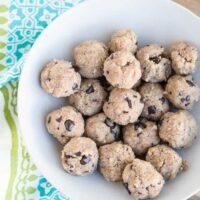 Paleo Cookie Dough Bites (Grain, Sugar, Dairy, & Egg-Free)