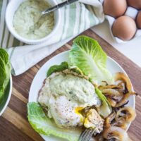 Green Chile Turkey Burgers with Guac-Ranch