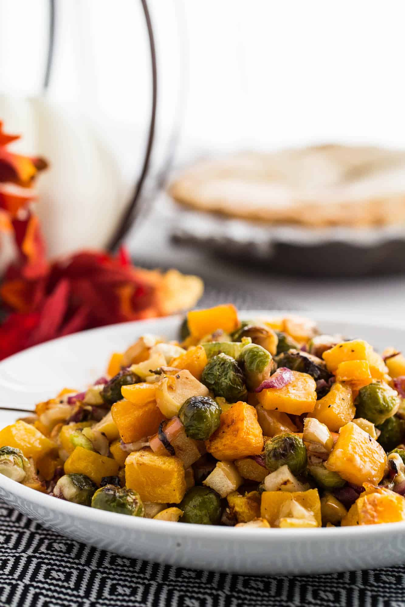 Roasted Fall Vegetables With Apples Amp Gouda Perry S Plate
