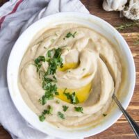 Instant Pot Cauliflower Puree with Rosemary and Garlic