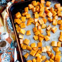 Chai Maple Roasted Butternut Squash
