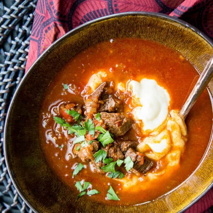 Paleo Hungarian Goulash Instant Pot Perry S Plate