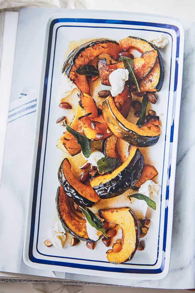 Have you ever grilled melon? It intensifies and caramelizes the natural sugars and adds a little smokiness. It's divine. This gluten-free and dairy-free Asparagus and Grilled Melon Salad is from Giada's Italy by Giada De Laurentiis. Grab the recipe and read a review of her book!   perrysplate.com