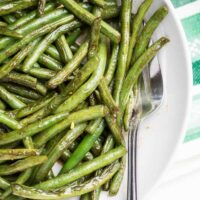 Magic Sauteed Green Beans