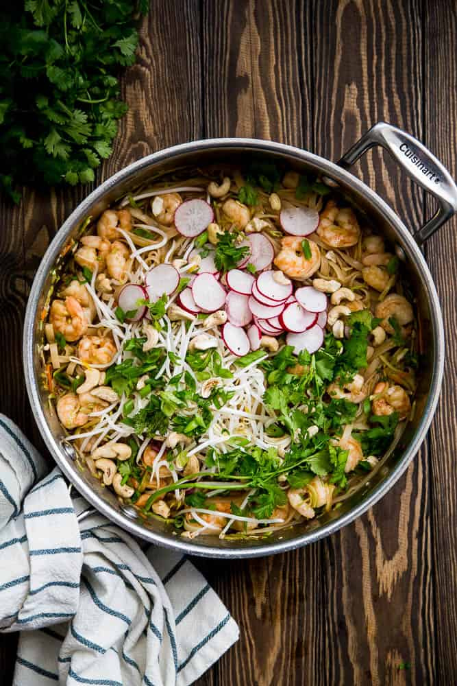 Easy paleo pad thai perrys plate this easy paleo pad thai is super quick to make and even better than takeout forumfinder Choice Image