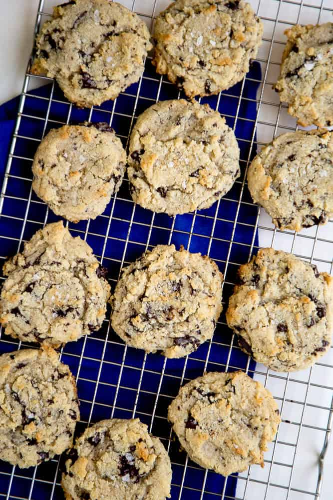 These are the best paleo chocolate chip cookies I've ever had! There's also a low-carb option in the recipe notes if you follow a keto diet.   perrysplate.com