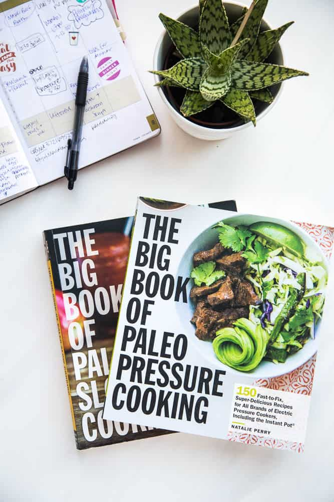 This brand-new paleo Instant Pot cookbook has 150 FANTASTIC recipes that are healthy and easy to make. There are also 100 Whole30 friendly recipes and 80 low-carb/keto recipes! Perfect for that Instant Pot you snagged on Black Friday.