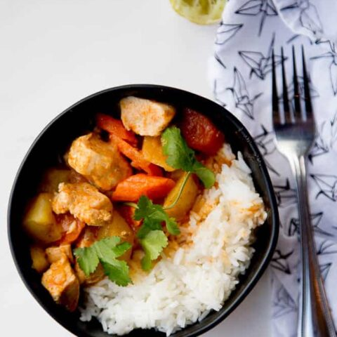 Easy Thai Chicken Curry (Instant Pot)
