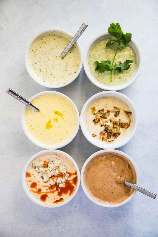 Lots of ways to add more flavor to basic ranch dressing!
