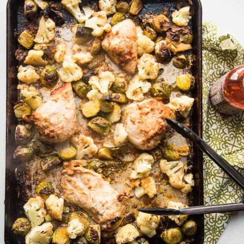 Thai Chicken Sheet Pan Dinner