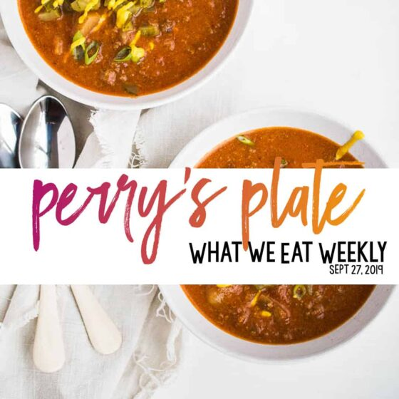 Healthy gluten-free meal plans with family-friendly recipes! | perrysplate.com #mealplan #mealprep