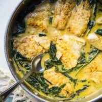Quick Thai Fish Curry & Coconut Rice