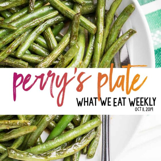 Healthy Weekly Meal Plan from Perry's Plate | perrysplate.com #mealplan #mealplanning #mealprep