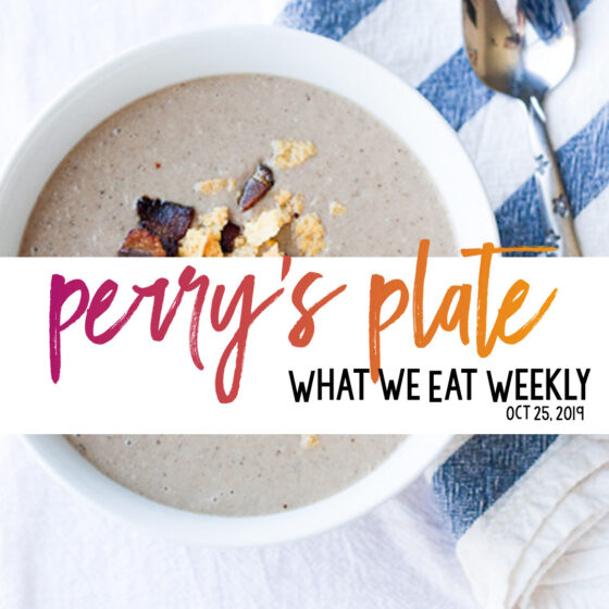 Healthy Dinner plan with lots of family-friendly, gluten-free (and paleo) meals! | perrysplate.com #mealplans #weeklymenu