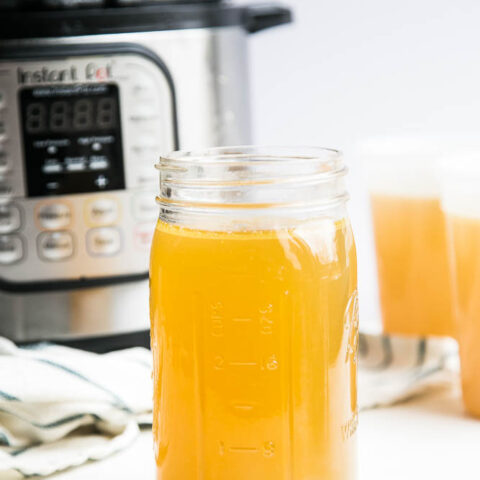 Instant Pot Chicken Bone Broth