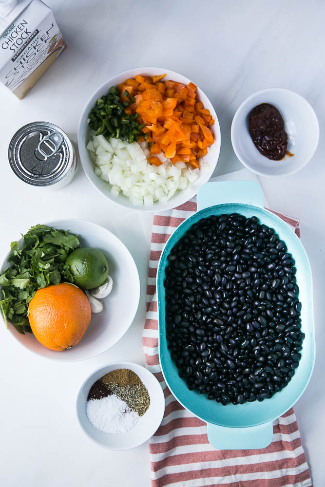 These aren't normal Instant Pot black beans. You'll want to eat these citrusy, smoky black beans all by themselves! | perrysplate.com #instantpot #instantpotrecipes