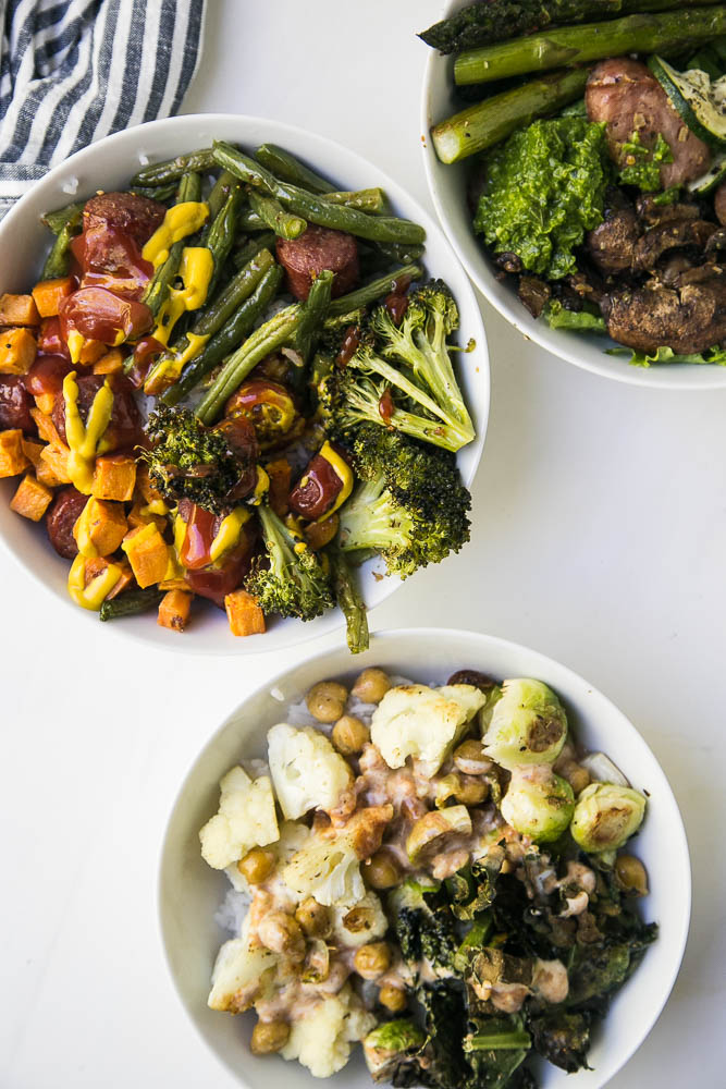 Easy Dinner Formulas that take the stress out of meal planning and cooking! Adaptable to paleo, keto, vegetarian, Whole30 or any other eating style! | perrysplate.com #mealplanning #mealprep #easydinner