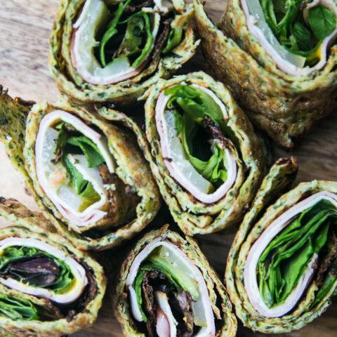 Gluten-Free Flatbread Sandwich Wraps