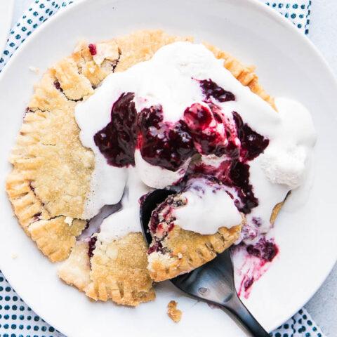 Gluten-Free Berry Hand Pies