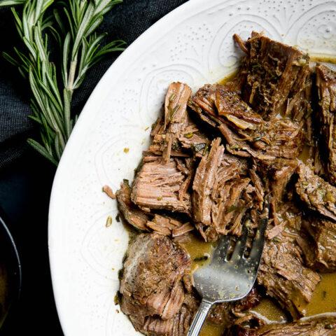 Easy Instant Pot Rosemary Pot Roast