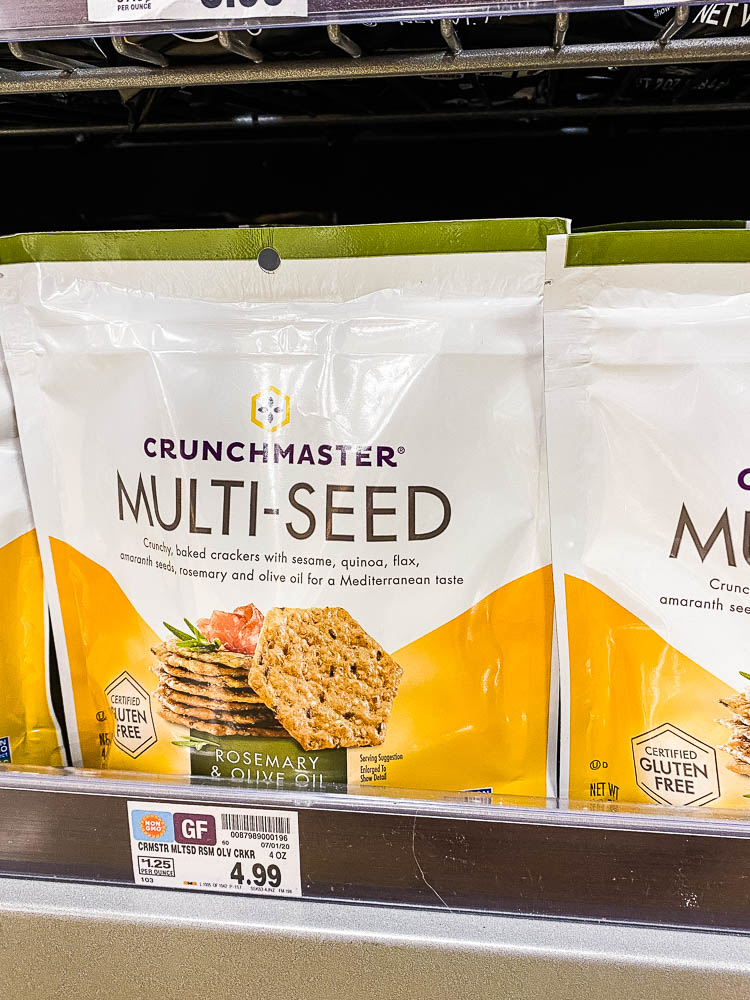 You can find Crunchmaster gluten-free crackers at Kroger!