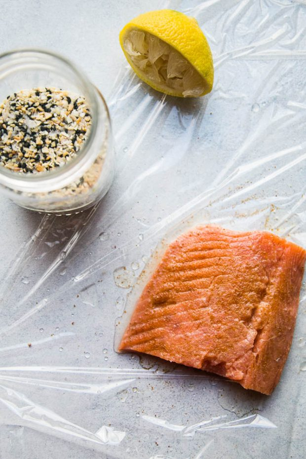 It's easy to make homemade gravlax with a little salt, sugar, and citrus.