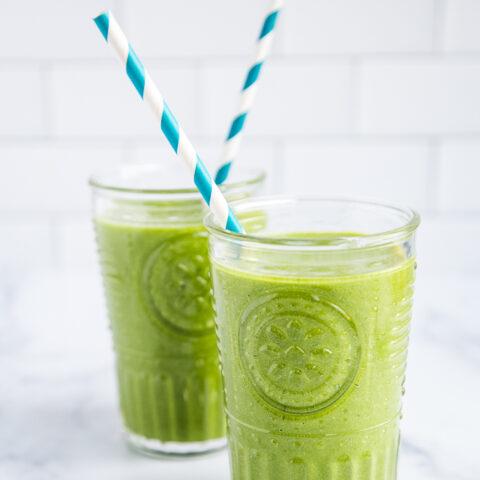 A Green Smoothie (that actually tastes good)