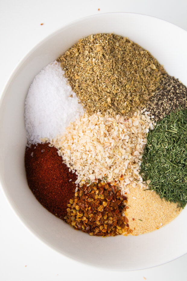Homemade steak seasoning is made from several common ingredients -- ones you might already have!