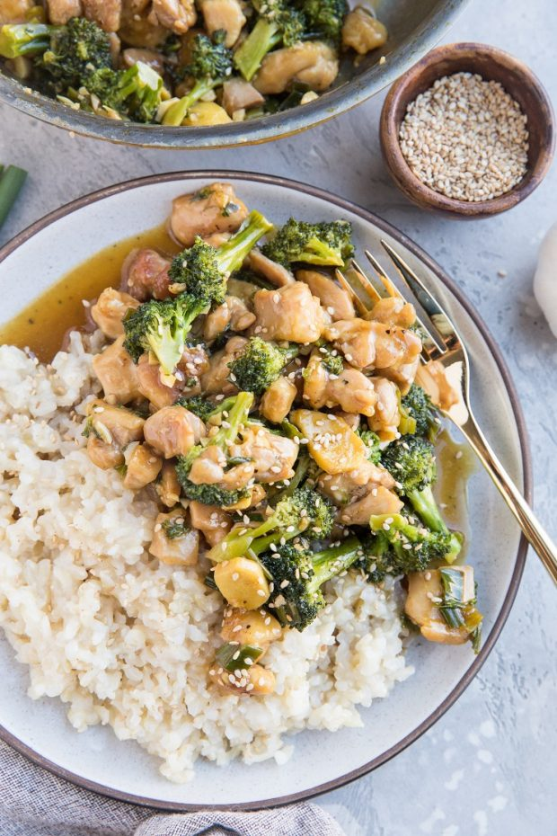 30-Minute Mongolian Chicken -- Paleo Meal Plans.
