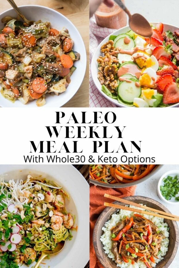 Paleo Meal Plans from Perry's Plate & The Roasted Root