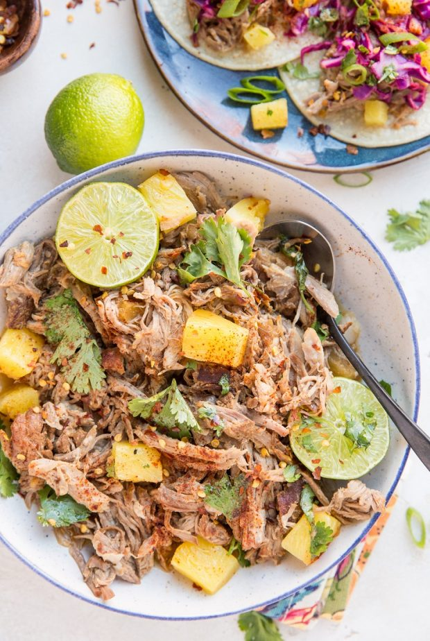 Instant Pot Pulled Pork with Pineapple