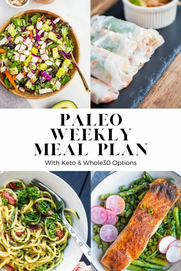 Free Paleo Meal Plan -- Week 11. Lots of easy, paleo-friendly meals with keto & Whole30 adaptations!