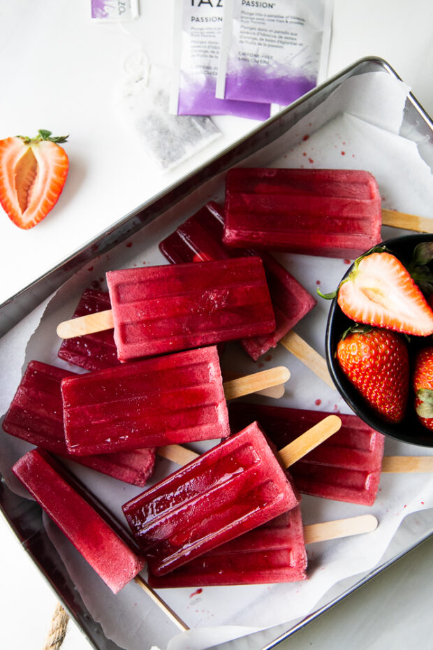 Pink Drink Popsicles