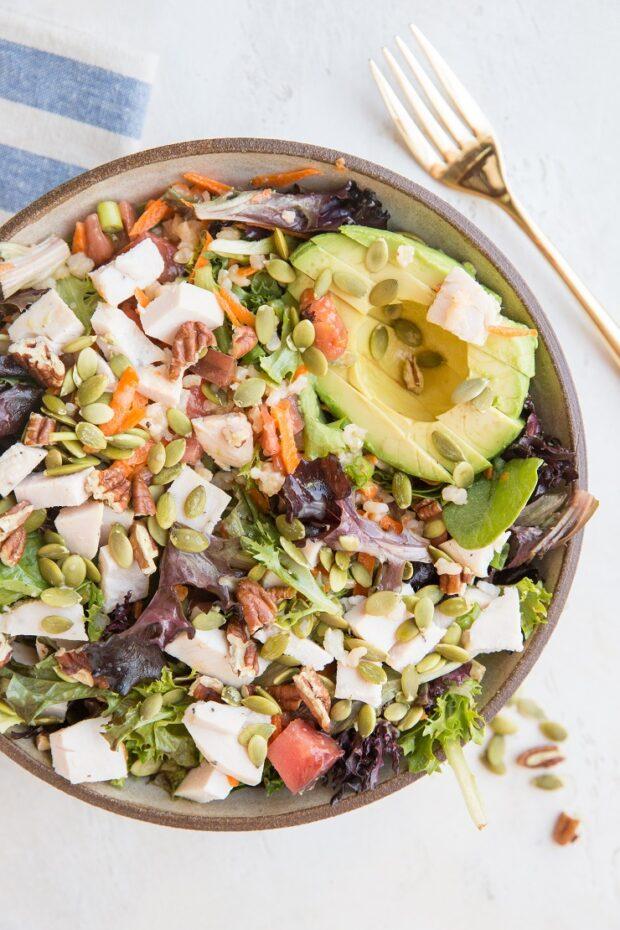 Julia's Current Favorite Salad -- Paleo Meal Plan