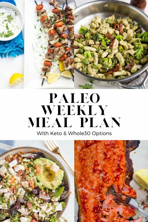 Paleo Meal Plan - lots of healthy, easy meals for busy families!