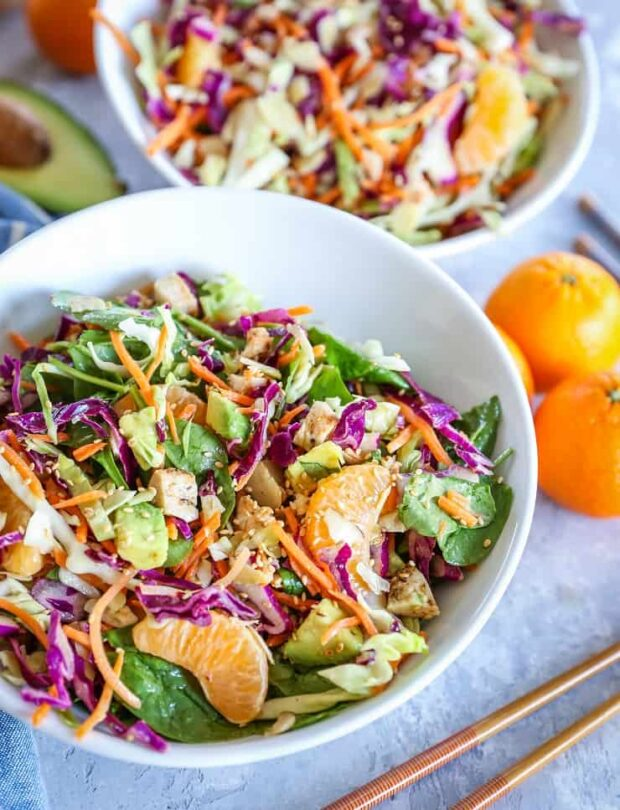 Paleo Chinese Chicken Salad -- Paleo Meal Plans
