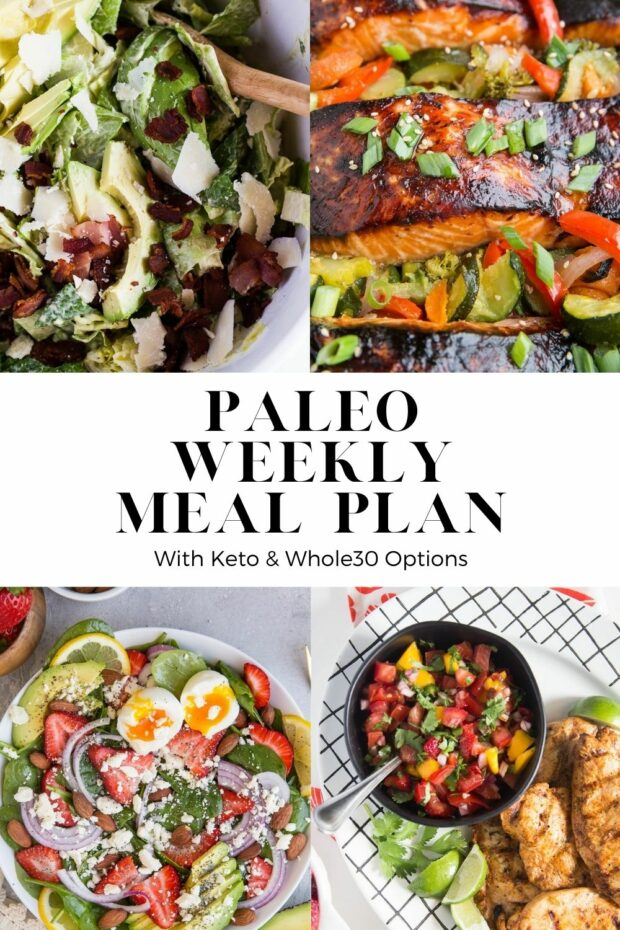 Free Paleo Meal Plans! Posted weekly at Perry's Plate.